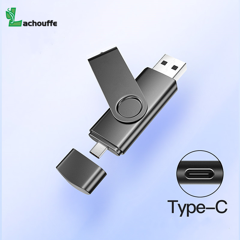 Swivel Type-c Pendrive Usb 2.0 32GB 128GB 16GB  Pen Drive Usb Flash Drive 64gb Otg Tpye C Phone Memory Disk