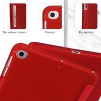 soft tpu Case for iPad mini 4 5 7.9 inch PU leather case cover For iPad mini 4 5 7.9 inch TPU Silicone Atomized Soft Bottom Tablet Case (4)
