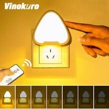 Светодиодный ночник с дистанционным управлением настенный светильник