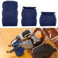 Новая надувная Регулируемая по высоте детская подушка для полета для ног темно-синий/серый дизайн надувная подушка для путешествий подушка...