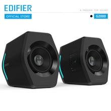 EDIFIER G2000 игровой динамик Bluetooth USB звуковая карта AUX вход 16 Вт RMS Выходная мощность 2,75 дюймов полный диапазон
