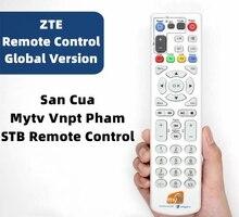 Mytv ชุดกล่องด้านบน ZTE Vnpt STB Iptv รีโมทคอนโทรล46คีย์46ปุ่มดิจิตอลการเรียนรู้สำหรับ ZTE ZXV10 B600 B700 ITV