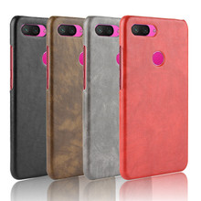 For XIAOMI 8 Youth Version of the Phone Case Lite Protective Retro Embossed Leather Drop-resistant