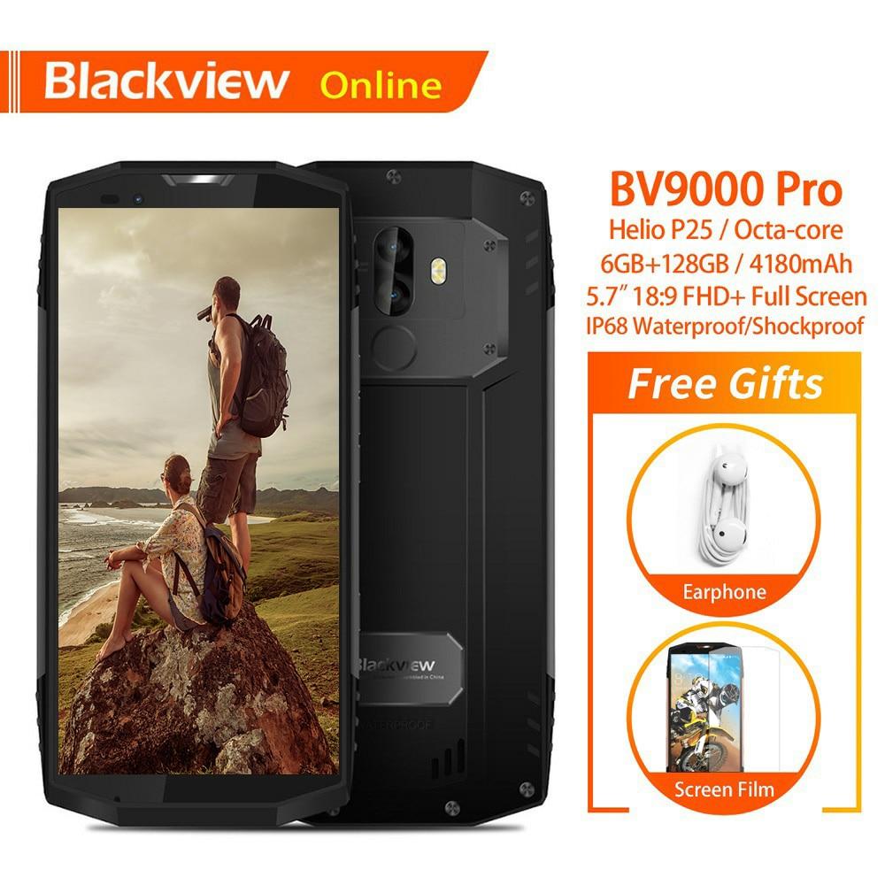 Blackview Original BV9000 Pro 5 7 IP68 Waterproof Rugged Mobile Phone 6GB 128GB Dual SIM 4180mAh