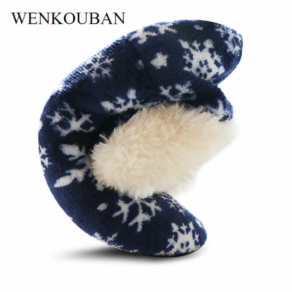Winter Haus Knöchel Stiefel Für Frauen Warme Pelz Schnee Stiefel Damen Weihnachten Indoor Socken Schuhe Plüsch Einlegesohle Schuhe Bottine Femme