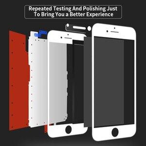 Image 3 - Aaaa tela lcd para iphone 6 6s 7 8 mais display lcd para iphone 5 5S se assembléia digitador da tela com substituição de toque 3d lcd