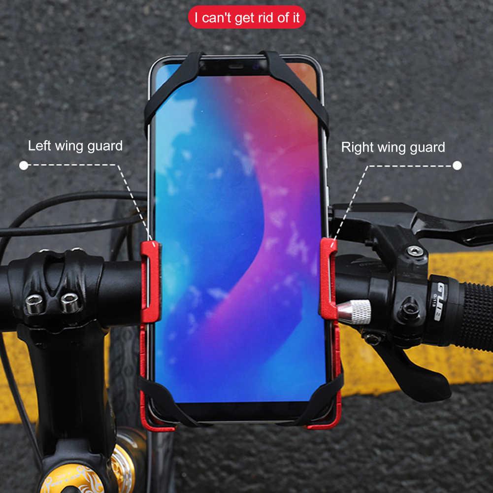 Велосипедный держатель для телефона GUB P10, кронштейн из алюминиевого сплава, подставка для телефона для мотоцикла, горного велосипеда, крепление на руль, велосипедный зажим