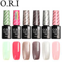 O.R.I 1PCS Nail Gel Polish 12ML Hybrid Varnish For Nail Art Semi Permanent UV Gel Nail Polish Set For Manicure Gel Lak Lacquer