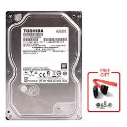 Toshiba 500 GB 3.5 500G HDD HD wewnętrzny dysk twardy SATA 3.0 7200RPM 32MB pamięci podręcznej 3.5