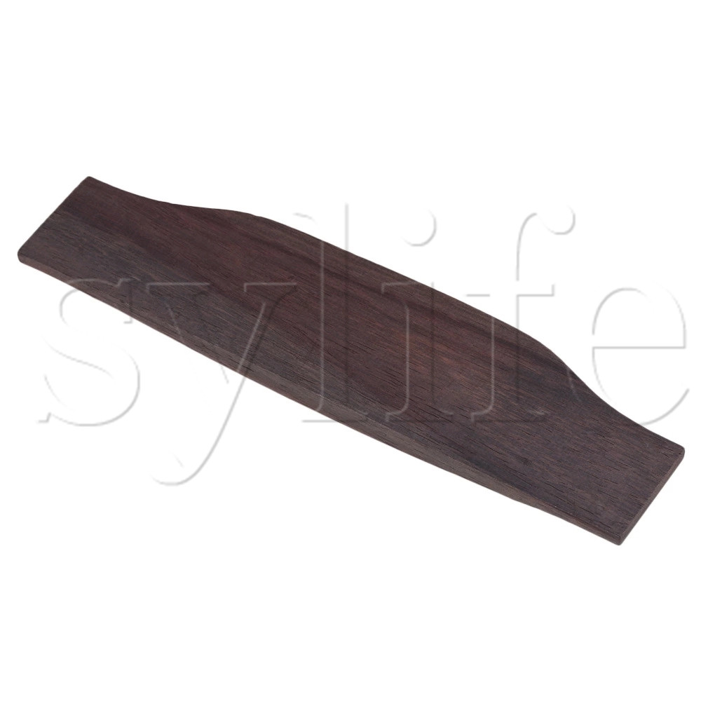 <font><b>Saddle</b></font> Thru <font><b>Acoustic</b></font> <font><b>Guitar</b></font> <font><b>Bridge</b></font> Rosewood image