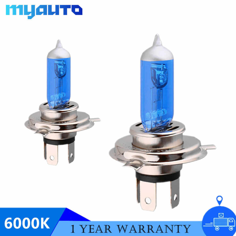 2x 12V55W 4300K H1 H4 H7 H11 9005 9006 HB3 HB4 Car Headlight Bulb Fog Light Lamp