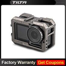 Tilta gaiola para dji osmo ação câmera caso protetor para osmo acessórios de ação