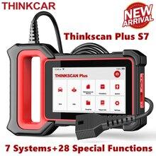 THINKCAR Thinkscan Plus S7 OBD2 Scanner TPMS olio DPF acceleratore Reset Airbag BCM ECM TCM IC AC ABS sistema diagnosi auto Scanner