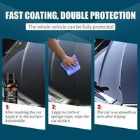 30ml Car Paint Repair Wax Agent 3D Anti-Scratch Liquid Polishing Hydrophobic Paint Care Coating Car Plastic Restorer 2