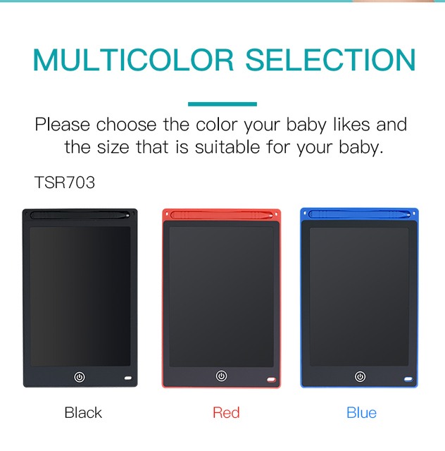 Tableta de escritura tishic LCD de 10/8. 5 pulgadas, tableta gráfica Digital borrable, tableta/almohadilla/tabla de dibujo electrónico para niños con pluma