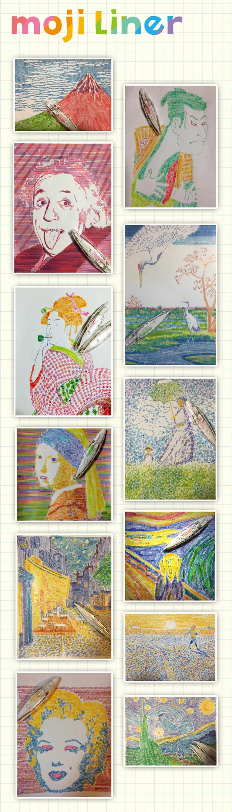 5pcs Lovely Stacker Swap Tip 7 Colors Wax Crayon Pencil Set Filler Kids Drawing