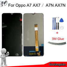 """6.2 """"AAA LCD Originale Per Oppo A7 CPH1901 AX7 Display LCD Touch Screen Digitizer Assembly Per Oppo A7N AX7N LCD di Ricambio"""