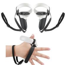 5 в 1 ремень кулака + крышка для захвата + ремешок для рук + пылезащитный чехол для объектива VR + крышка для кнопки большого пальца для Oculus Quest 2 VR...