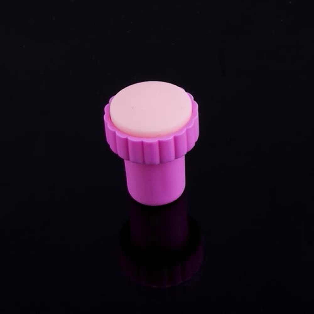 Nuevo estilo de moda sello de imágenes para manicura estampado de placas de manicura Set para DIY + 1 estampadora + 1 Kit de sellos de uñas raspador