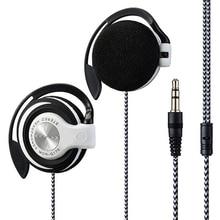3.5mm Earphones Wired Gaming Headset On-Ear Sports Headphones Ear-hook Music Earphones for