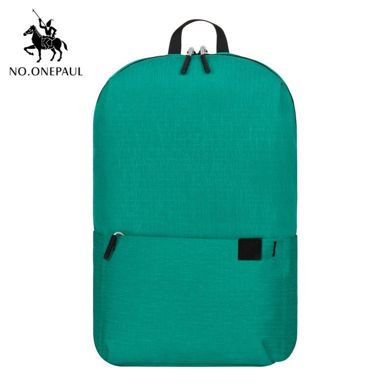 NO.ONEPAUL Mochila, женский рюкзак для путешествий, женский рюкзак, модный, кольцо, украшение, на плечо, для книг, сумка, легкая, повседневная сумка - Цвет: PCKG green