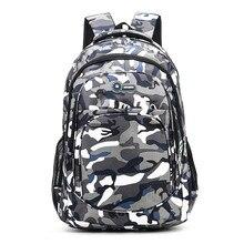 WENYUJH Men Backpack 2 Size Backpack Waterproof School Bag G