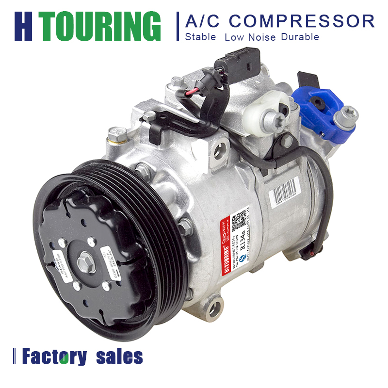 For VW polo ac compressor AUDI SKODA SEAT 6SEU14C 6Q0820808A 6Q0820803E 6Q0820803K 6Q0820803P 6Q0820803Q 6Q0820808C 8Z0260805|Air-conditioning Installation|Automobiles & Motorcycles - title=