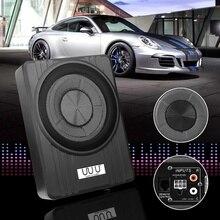 """10 """"600W Auto Aktiven Subwoofer Audio Lautsprecher Verstärker Ultra dünne Subwoofer Bass Verstärker Auto Surround Sound Auto Audio system"""