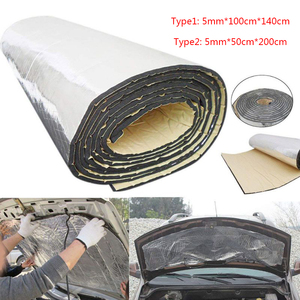 noise insulation for car Aluminum sound insulation acoustic foam rubber thermal insulator Auto soundproof vibration isolation