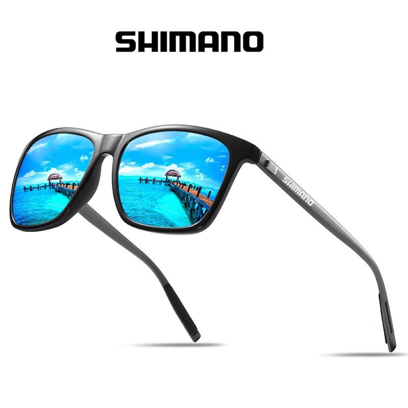 Очки для рыбалки Shimano с УФ-защитой для мужчин и женщин, поляризационные разноцветные солнцезащитные, для спорта на открытом воздухе, походов...