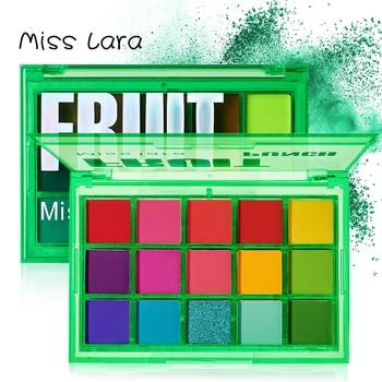 Miss lara Makeup Sweet Party Eyeshadow Pallete Neon Palette 15 Shimmer Glitter Matte Shades Matellic Nude Blendable Pigment 1