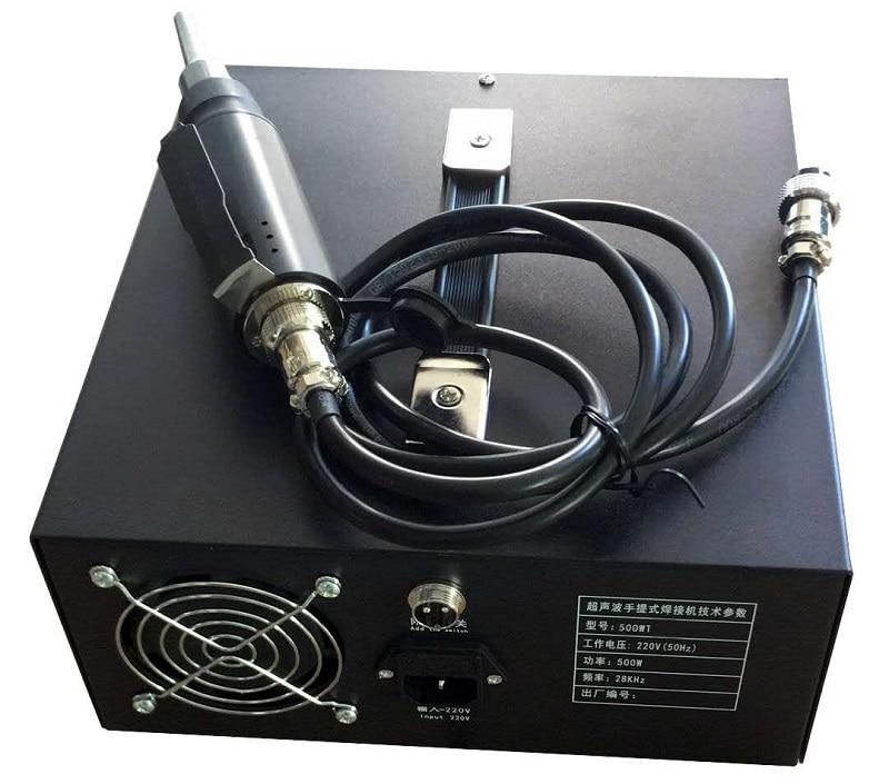 Hand Held Ultrasonic Spot Welding Machine Suitable for Riveting/Welding/Dots/Folder Location 1