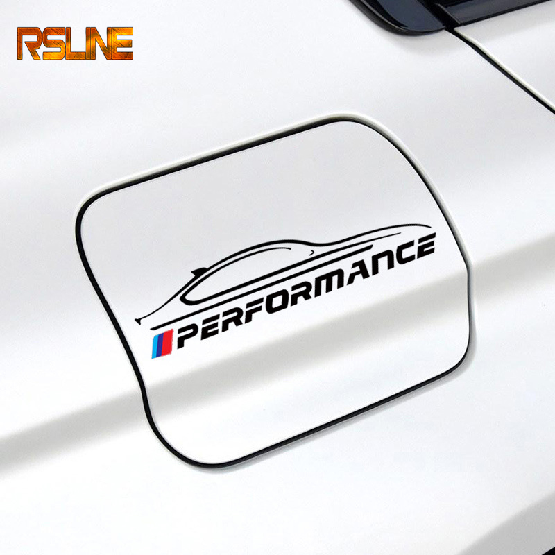 M Power Performance Car Tank Cap Sticker For Bmw E46 E90 F20 E60 E39 F10 X1 X3 X4 X5 X6 X7 320i 325i 520i 530i 528i Accessories