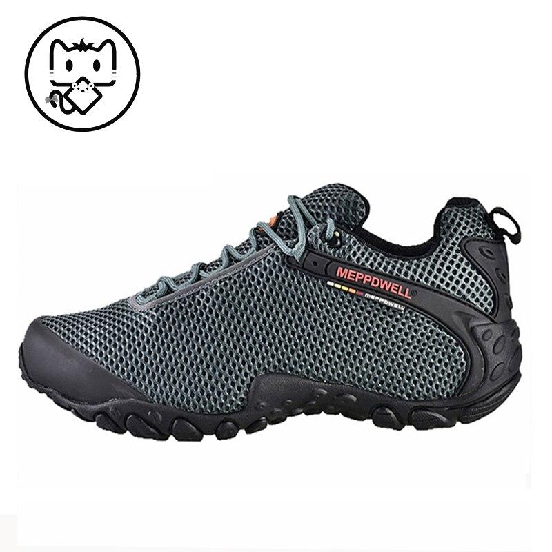 mountain trekking shoes men hiking shoes men waterproof ultra-light climbing shoes outdoor sports shoes men 224-6-11