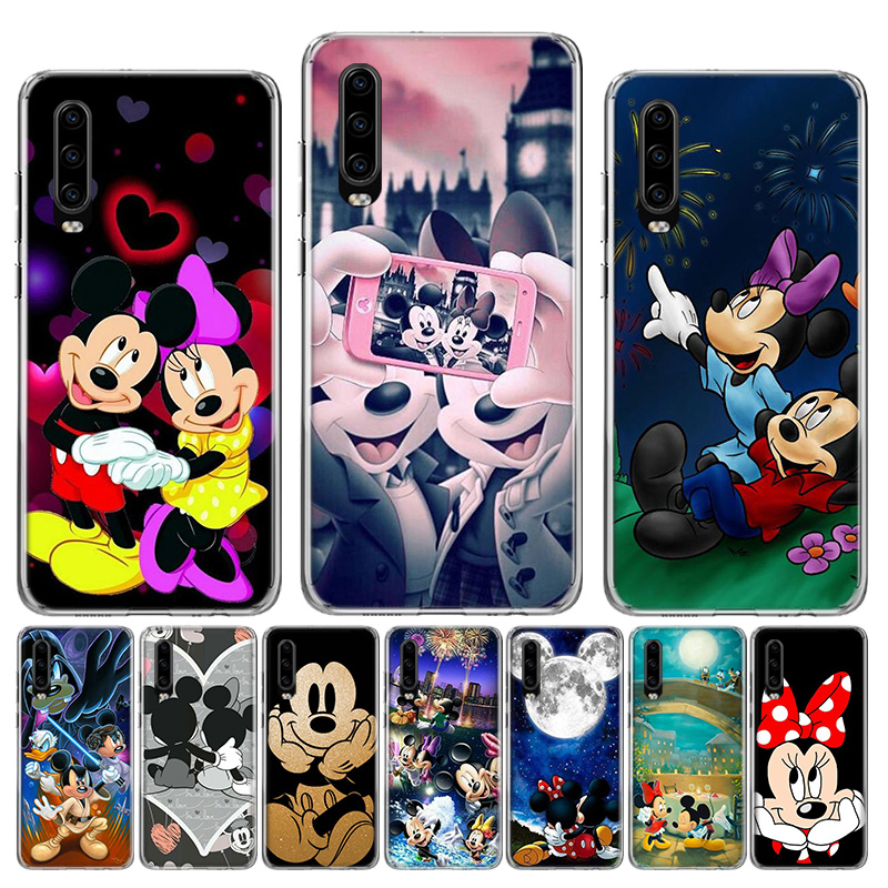 luxury cartoon high end <font><b>Disney</b></font> For Soft Silicone <font><b>Case</b></font> For <font><b>Huawei</b></font> P40 <font><b>P30</b></font> P20 P10 <font><b>lite</b></font> Mate 10 20 30 Pro + Fundas Coque Etui image
