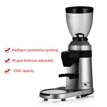 Elektryczny młynek włoski młynek do kawy domowy i handlowy automatyczny młynek wydajny młynek do kawy tanie i dobre opinie Bear Rohs ZD-16 Szlifierek zadziorów (stożkowe) STAINLESS STEEL Elektryczne 130W Coffee grinder 220-240V 800 R min Minutes