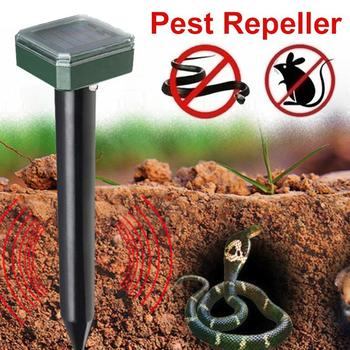 Ultrasonic Rat Repeller Ultrasonic Mouse Repeller 1.2V 600MAH 400-1000(HZ) Insect Yard Animal Eco Friendly Electronic image