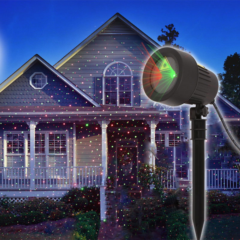 Outdoor Christmas Goods Star Lights Laser Projector Showers New Year's Decor Holiday Light Christmas Tree Decorations For Home