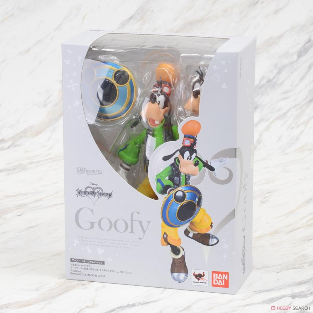 New Arrival Fantasy Bandai Kingdom Hearts 2 Dog Goofy King Mickey Action Figure Model Kit