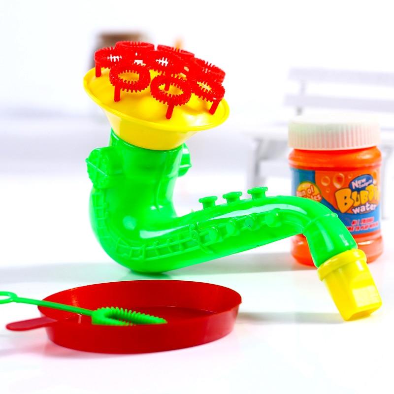 1PCS Free Shipping  New Children's Toys Bubble Hot Selling Bubble Gun Toys Porous Bubble Machine High Quality