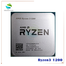 AMD Ryzen 3 1200 R3 1200 3.1 GHz Quad Core Quad Thread di CPU Processore YD1200BBM4KAE Presa AM4