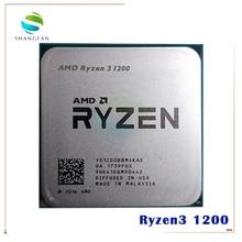 AMD Ryzen 3 1200 R3 1200 3.1 GHz Quad Core Quad חוט מעבד מעבד YD1200BBM4KAE שקע AM4