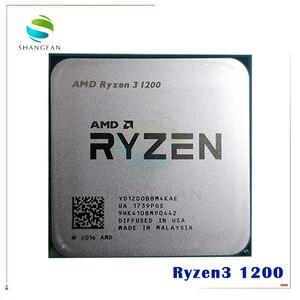 Image 1 - AMD procesador de CPU AMD Ryzen 3 1200 R3 1200 3,1 GHz Quad Core Quad Thread YD1200BBM4KAE Socket AM4