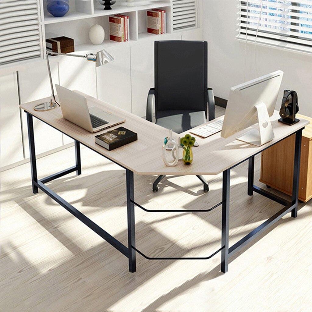 Modern Computer Desk L Shaped Corner Desk Home Office Desks Study Office Desk Workstation More Stable Structure Table Aliexpress