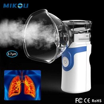 Ultrasonic Nebulizer Portable Rechargeable Respirator Inhaler Nebulizer For Children Adult Mini Home Health Care Nebulizer
