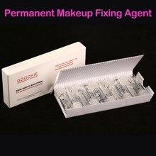 Goochie maquiagem permanente sobrancelha & lábio vara tatuagem agente calmante pele sooth solução indolor/agente de fixação tatuagem assistência