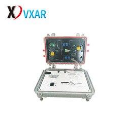 Catv наружный волоконно-оптический узел 4 выхода оптический приемник agc 220 В