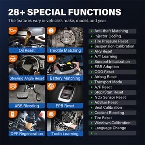Image 3 - TOPDON فينيكس زائد سيارة التشخيص ماسحة السيارات المسح الضوئي السيارات المهنية التشخيص Diagnost ECU الترميز 2 سنوات