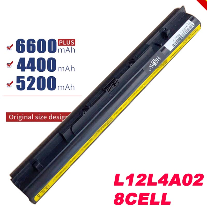 8cells  L12S4E01 Battery For Lenovo Z40 Z50 G40-45 G50-30 G50-70 G50-75 G50-80 G400S G500S L12M4E01 L12M4A02