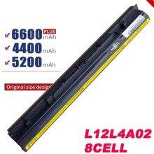 Batterie 8 cellules pour Lenovo Z40 Z50 G40 45 G50 30 G50 70 G50 75 G400S G500S L12M4E01 L12M4A02